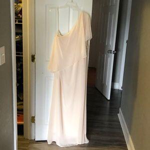 Nouvelle Amsale bridesmaid dress.